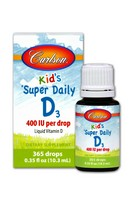 Carlson Super Daily D3 for Kids 400IU