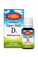 Carlson Super Daily D3 4000IU