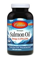 Carlson Norw Salmon Oil  180 SoftGel
