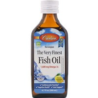 Carlson Labs - The Very Finest Fish Oil, Norwegian, Lemon, 6.7 fl oz (200 ml)