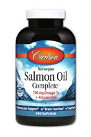 Carlson Salmon Oil Complete 1250 mg