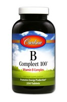 Carlson B-Compleet-100 250 Tablets