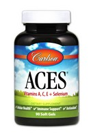 Carlson Laboratories - Aces, 90 softgels [Health and Beauty]