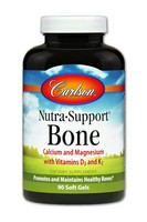 Carlson Labs Nutra Support Bone Multi Nutrients, 90 Softgels