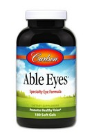 Carlson Able Eyes 180 Soft Gels
