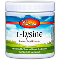 Carlson Labs - L-Lysine, Amino Acid Powder, 3.53 oz (100 g)
