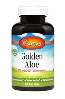 Carlson Golden Aloe 100mg 60 Soft Gels