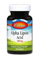 Carlson Alpha Lipoic 100Mg 180 Tablets