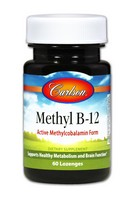 Carlson Methyl B-12 60 Tablets