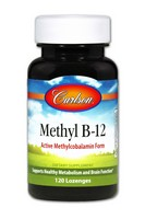 Carlson Methyl B-12 120 Tablets