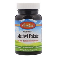 Carlson Methyl Folate 120 Capsules