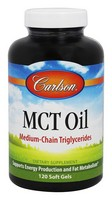 Carlson MCT Oil 120 Soft Gels