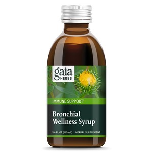 Gaia Herbs - Rapid Relief, Bronchial Wellness Herbal Syrup, 5.4 fl oz (160 ml)