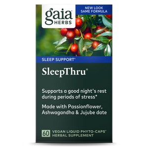 Gaia Herbs Sleep Thru 60 Caps