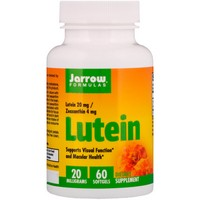 Jarrow Formulas - Lutein, 20 mg, 60 Softgels