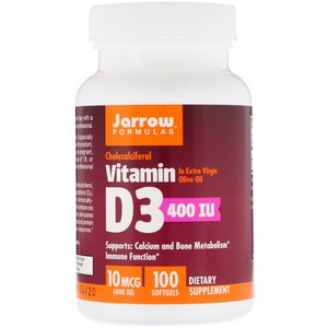 Jarrow Vitamin D3 400IU