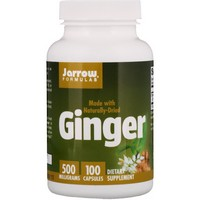 Jarrow Formulas - Ginger, 4:1 Concentrate, 500 mg, 100 Capsules