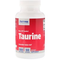 Jarrow Taurine 1000, 100 caps