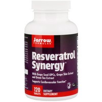 Jarrow Resveratrol Synergy , 120 caps