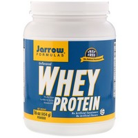 Jarrow Formulas - 100% Natural Whey Protein Powder, Unflavored, 16 oz (454 g)