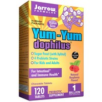 JARROW Yum Yum Dophilus - Value Size 1 BILLION ORGANISMS PER 2 CAP 120 TABS