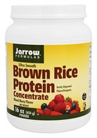 Jarrow Formulas Ultra Smooth Brown Rice Protein Sports Nutrition, Mixed Berry, 1.3 Pound
