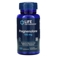Life Extension Pregnenolone 100 mg, 100 capsules