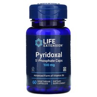 Life Extension PYRIDOXAL 5'-PHOSPHATE 60 100 MG CAPSULES