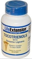 Life Extension, TOCOTRIENOLS WITH SESAME LIGNANS 60 SOFTGEL CAPSULES