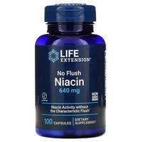 Life Extension - No Flush Niacin, 800 mg, 100 Capsules