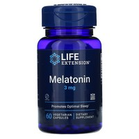 Life Extension Melatonin | 3 mg 60 capsules