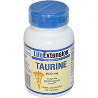 Life Extension Taurine | 1000 mg 50 capsules