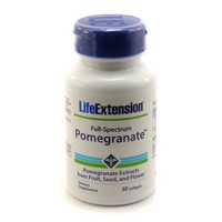 Life Extension Full-Spectrum Pomegranate | 30 softgels