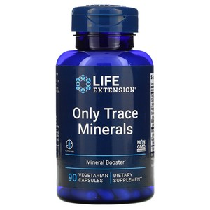 Life Extension - Only Trace Minerals, 90 Veggie Caps