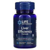 Life Extension LIVER EFFICIENCY FORMULA30 VEGETARIAN CAPSULES