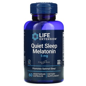 Life Extension - Natural Sleep, Melatonin, 5 mg, 60 Veggie Caps