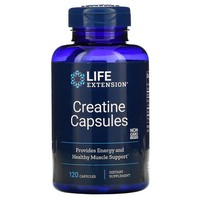 Life Extension - Creatine Capsules, 120 Veggie Caps