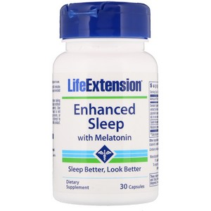 Life Extension - Enhanced Natural Sleep, 30 Capsules
