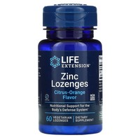 Life Extension - Zinc Lozenges, Natural Citrus-Orange Flavor, 60 Veggie Lozenges