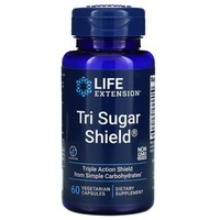 Life Extension TRI SUGAR SHIELD 60 VEGETARIAN CAPSULES
