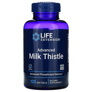 European Milk Thistle Life Extension 120 Softgel