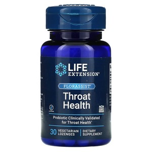 Florassist Throat Health Life Extension 30 Lozenge