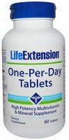 Life ExtensionLife Extension One Per Day 60 Tablets