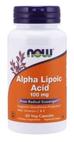 Alpha Lipoic Acid 100mg With E & C Now Foods 60 VCaps