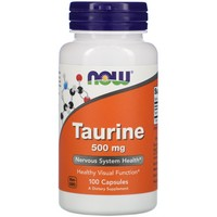 Now Foods Taurine 500 mg (100 caps)