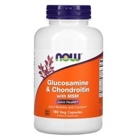 NOW Foods Glucosamine & Chondroitin + MSM, 180 caps