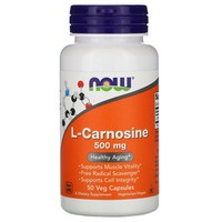 Now Foods Carnosine 500mg, 50 caps