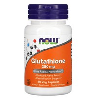 Now Foods L-Glutathione 250mg, 60 caps