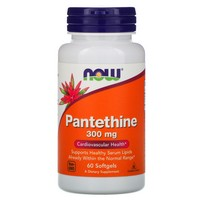 Now Foods Pantethine 300mg, 60 gels