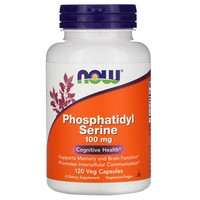 Now Foods Phosphatidyl Serine 100mg, 120 caps